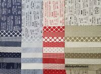 SWEET TEA Moda quilt fabric 37 piece Sample Set SWEETWATER calico sew applique