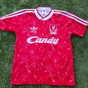 Childs Retro Liverpool Shirt 89 season 30/32 'Large Boys'