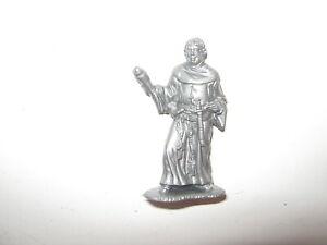 Marx robin hood friar tuck silver recast excellent 1980's
