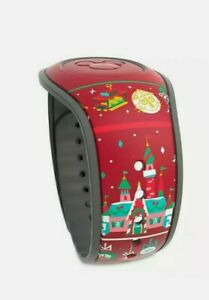 NEW Disney Parks 2020 Mickey Holidays Christmas Sweater Red MagicBand Linkable