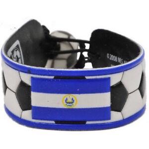 El Salvador Flag Classic Soccer Bracelet Wristband Futbol