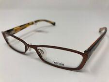 9d38835dc256 NEW! Kensie Eyeglasses Frames Mod 104 Shiny Brown 48 16 135 Flex Hinge