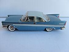 MADISON MODELS #6 1957 CHRYSLER NEW YORKER 2 DOOR HARDTOP BLUE EX COND 1/43 NR