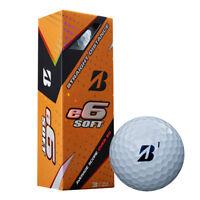Bridgestone e6 Soft 2018 Golf Balls - 3 Piece 46 Compression - 3 BALL SLEEVE