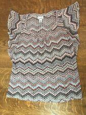 Motherhood Maternity Womens Sleeveless Shirt Top Medium M