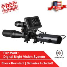 Night Vision Infrared Rifle Scope Hunting Sight Advanced 850nm LED IR Camera DIY