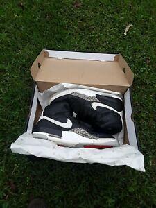 OG Air Jordan Legacy 312 Don C Black & White Cement Sneakers Size 11 kobe black