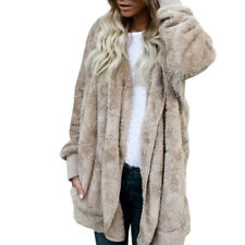 Womens Long Sleeve Oversized Loose Knitted Sweater Jumper Cardigan Outwear Coat