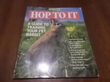 Hop To It - A Guide To Training Your Pet Rabbit
