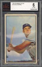 1953 Bowman Color Gus Zernial #13 - Philadelphia Athletics - BVG 6 - EX-MT