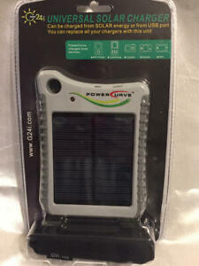 G24i Universal Solar Charger Power Curve New Sealed Package Charging Block Ipad