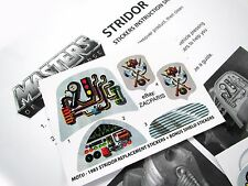 MOTU Masters of the Universe replacement stickers for 1983 STRIDOR + SHIELDS!!!
