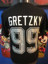 LA Kings Wayne Gretzky YXL Black Jersey Shirt