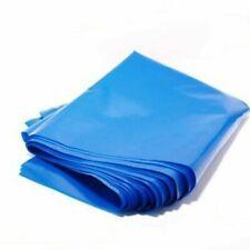 More details for 10x blue plastic polythene bag 30