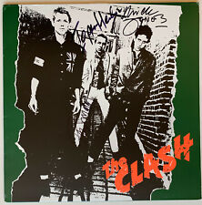 The Clash Autographed vinyl Album signed by 3 Jones Headon Simon Beckett BAS coa