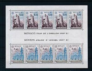 [G42977] Monaco 1977 EUROPA CEPT Good sheet Very Fine MNh