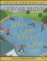 IT TAKES ONE TO KNOW ONE: POEMS BY GERVASE PHINN ~ Single Audio Cassette