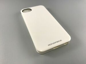 Monoprice 109784 Sure Fit PC+TPU Case for iPhone 5/5s/SE - Gloss White ***NEW***