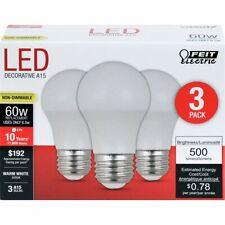 LED A15 6.5W/60W MED 3000K