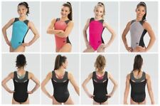 Gk Elite Spaghetti Back Gymnastics Leotard Child & Adult Sizes New With Tags