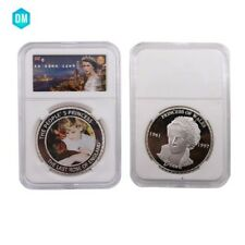 The People's Princess Diana Souvenir Coin 999 Silver Plated Gift Coin In Box