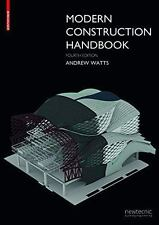 MODERN CONSTRUCTION HANDBOOK - WATTS, ANDREW - NEW PAPERBACK BOOK