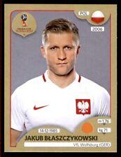 Panini World Cup 2018 (SWISS GOLD VERSION) Jakub Blaszczykowski (Poland) No. 603
