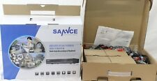 Sannce 1080N 4-Channel Dvr Home/Business Security Cctv System w/(4) Cameras