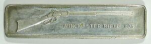 American Weapons Hall of Fame 1873 Winchester Sterling Silver Bar