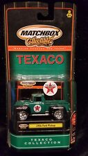 NEW MATCHBOX TEXACO COLLECTION 1956 FORD PICK UP 2000 GREEN (M-4)