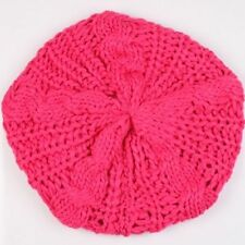BEANIE HAT Slouch  Mckenzie Knitted Crochet USA Seller ~ FREE SHIP ~