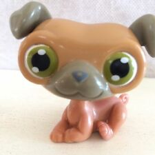 Littlest Pet Shop Lot Birthday Cake Topper Plastic Pug Dog - no number - 6 pics