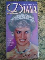 Diana - Princess of Wales - 1961-1997 (VHS,1997)