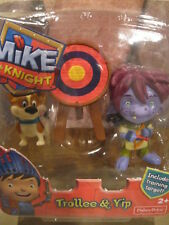 Fisher Price  Mike the Knight  -Trollee & Yip Figures New