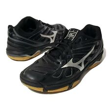 New listing Mizuno Wave Hurricane 3 Volleyball Shoes Womens Size 10 Black Silver