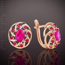 Ohrringe mit Rubinen Korund Orb36450