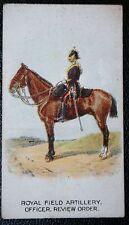 Royal Field Artillery  Officer   British Army  Original  1912 Vintage Card