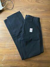 TOPO Designs Carpenter Cordura Stretch Canvas Pants Black size 28 made in usa