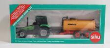 Siku Farmer 3752 Deutz Fahr Traktor mit Vakuum Faßwagen (Kaweco) 1:32 OVP - 5201