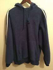 Nautica Competition Blue Hoodie Striped Vintage