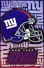 Starline New York Giants 22x34 Helmet Logo Original Poster