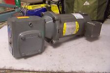 BOSTON GEAR 60:1 DC CONVEYOR GEARMOTOR 90 VDC .25 HP 1750 RPM 56C FRAME