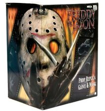 Freddy vs Jason Mask and Glove in Display LE of 2000 By NECA
