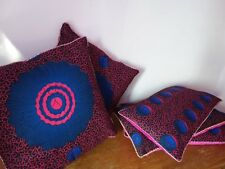 Home Decor Handmade Cotton Velvet Cushion Pillow Covers African Print 35x65cm