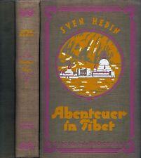 """Hedin, Sven """"Abenteuer in Tibet"""" Bd.1 aus """"Reisen und Abenteuer"""" 1926"""