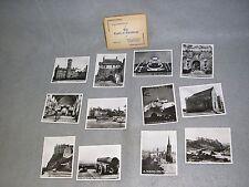 Antique 1920's The Castle of Edinburgh 12 Photographs Photos Travel Tourist