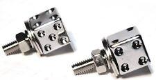 license plate bolts(2) dice chrome plastic for Kenworth Freightliner Peterbilt
