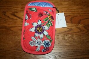Vera Bradley DOUBLE EYE eyeglass soft case for readers backpack tote purse NEW