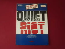 Quiet Riot-Best Of. Songbook Spartito libro Vocal Guitar