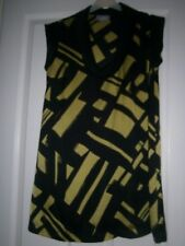 Ladies Green & Black Wallis Dress/ Tunic Size 8